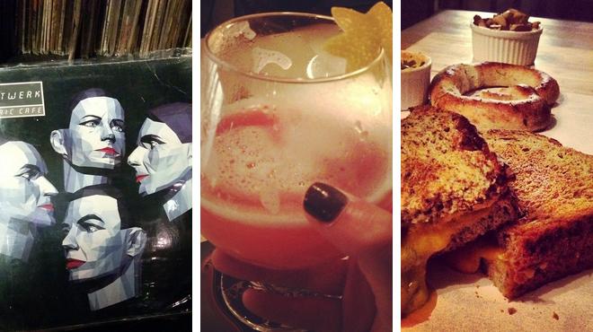 Rock club ⇨ Restaurant ⇨ Bar