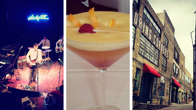 Jazz club ⇨ French restaurant ⇨ Bar