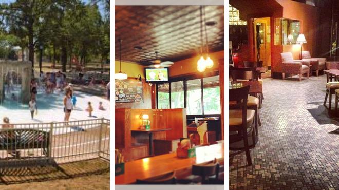 Park ⇨ Burger joint ⇨ Wine bar