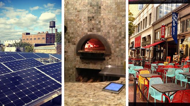 Admire art ⇨ Pizza place ⇨ Pub