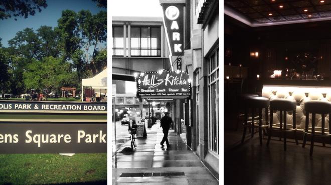 Park ⇨ American restaurant ⇨ Bar