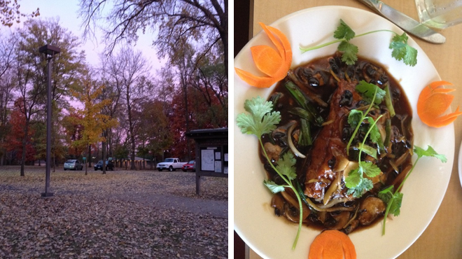 Trail ⇨ Asian restaurant