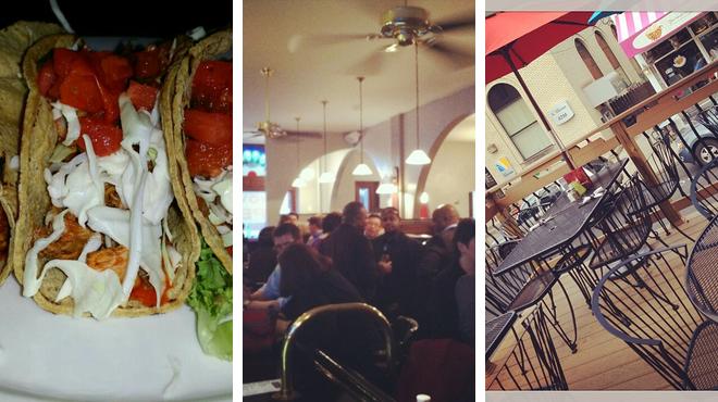 Seafood restaurant ⇨ Jazz club ⇨ Bar