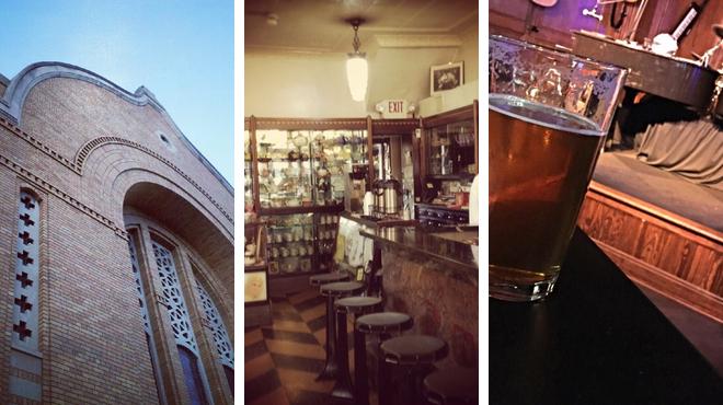 Rock club ⇨ Ice cream shop ⇨ Bar