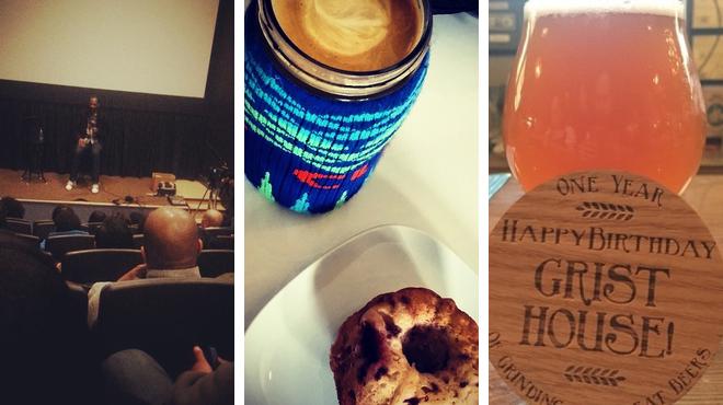 Catch a movie ⇨ Coffee shop ⇨ Brewery