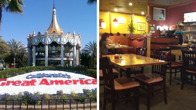 Theme park ⇨ Vegetarian / vegan restaurant