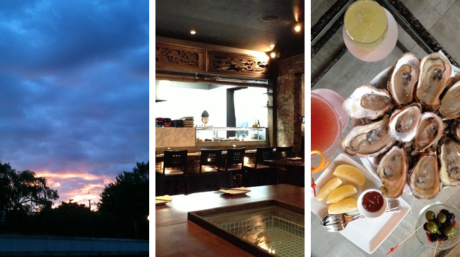 Park ⇨ Japanese restaurant ⇨ Lounge