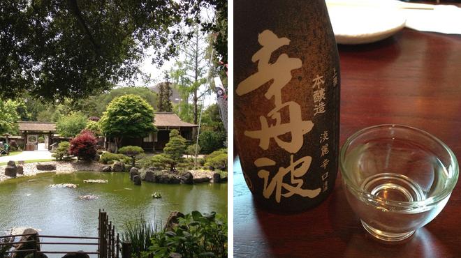 Garden ⇨ Japanese restaurant