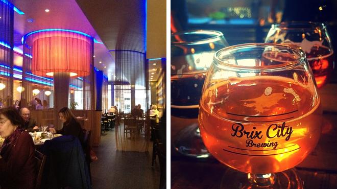 Italian restaurant ⇨ Brewery
