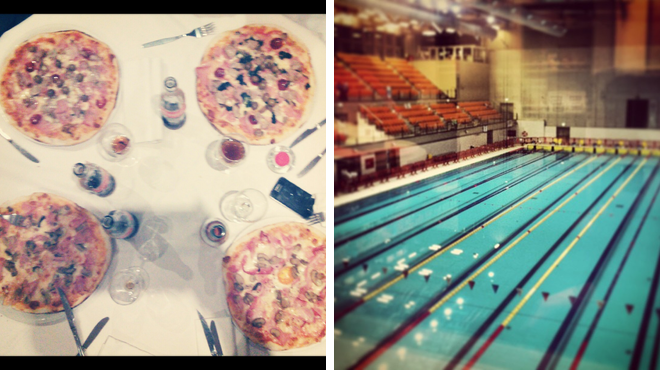 Pizza place ⇨ Pool
