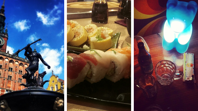 Plaza ⇨ Sushi restaurant ⇨ Bar
