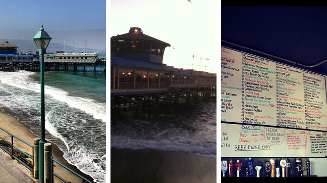 Harbor / marina ⇨ Seafood restaurant ⇨ Bar