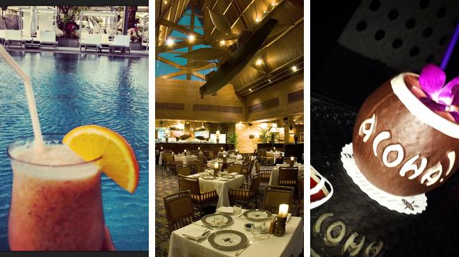 Pool ⇨ Restaurant ⇨ Lounge