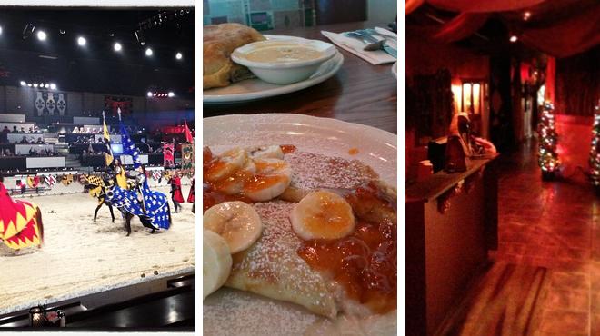 Have fun ⇨ Breakfast spot ⇨ Hookah bar