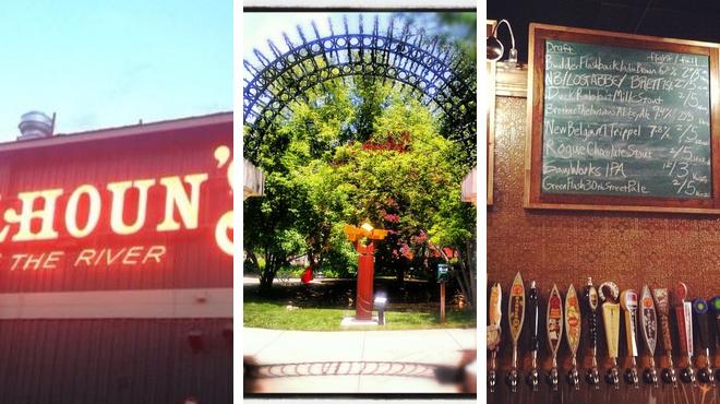 American restaurant ⇨ Park ⇨ Pub