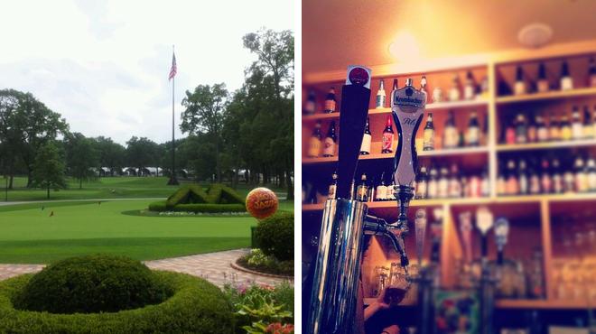 Golf course ⇨ Bar