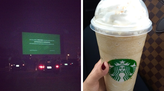 Catch a movie ⇨ Coffee shop