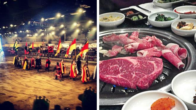 Theater ⇨ Korean restaurant