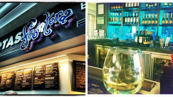 Mexican restaurant ⇨ Wine bar