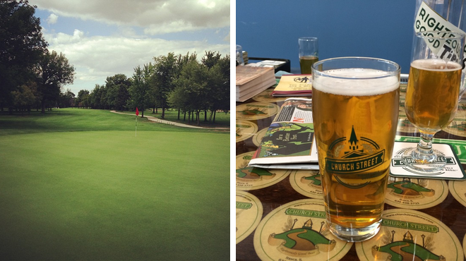 Golf course ⇨ Brewery