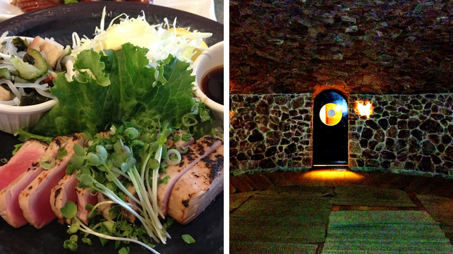 Sushi restaurant ⇨ Bath house