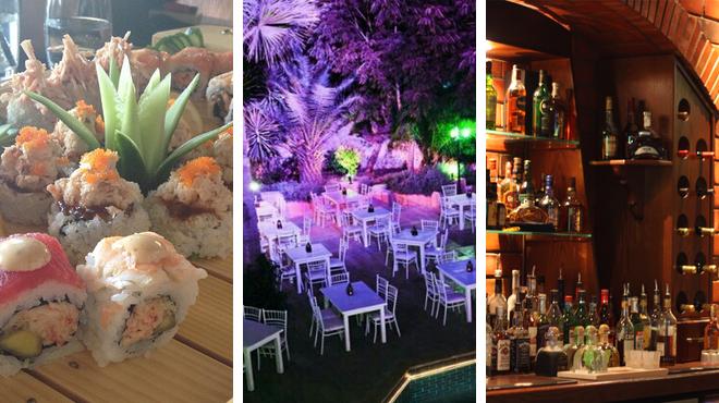 Sushi restaurant ⇨ Have fun ⇨ Bar