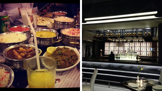Indian restaurant ⇨ Lounge