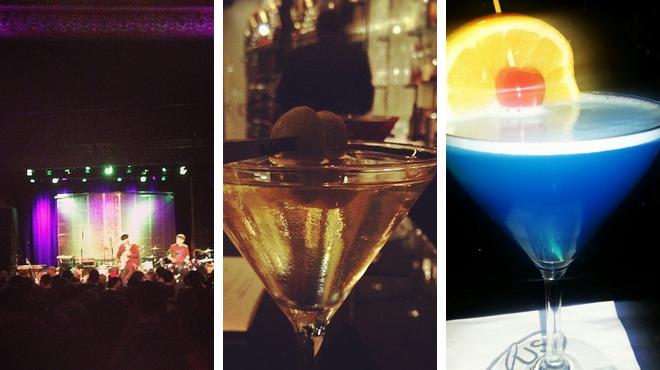Catch a show ⇨ American restaurant ⇨ Delicious Cocktails