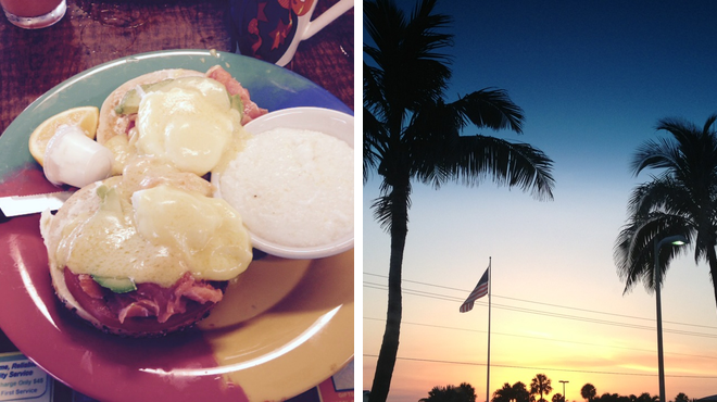 American restaurant ⇨ Beach