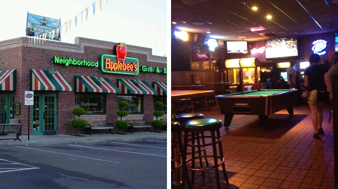 American restaurant ⇨ Sports bar