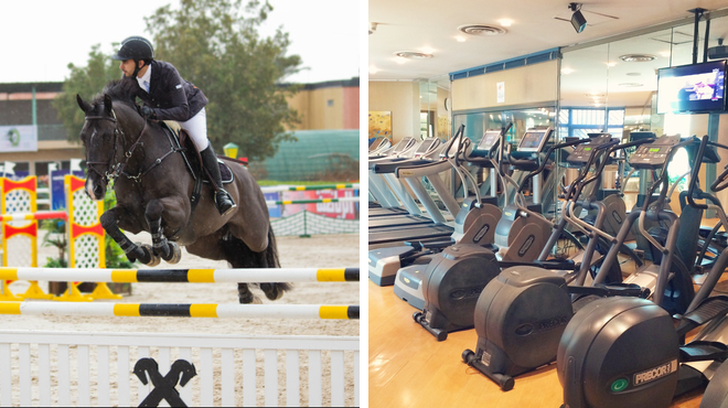 Stables ⇨ Gym / fitness center