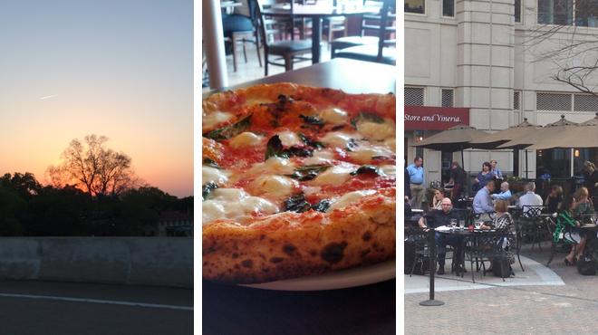 Park ⇨ Pizza place ⇨ Wine bar