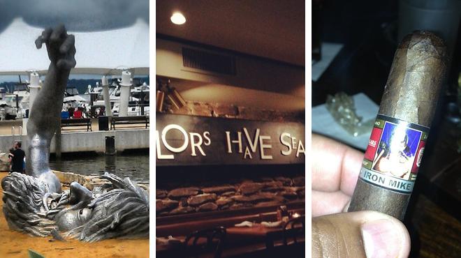 Harbor / marina ⇨ American restaurant ⇨ Lounge