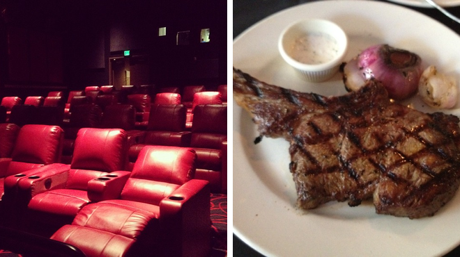 Catch a movie ⇨ Steakhouse