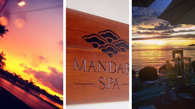 Golf course ⇨ Couple's Massage ⇨ Caribbean restaurant