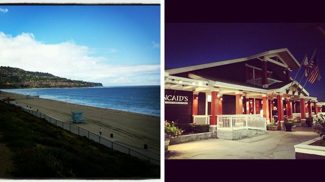 Beach ⇨ American restaurant