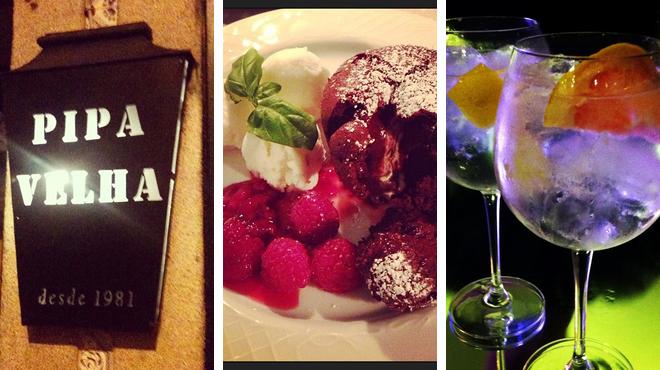 Bar ⇨ Portuguese restaurant ⇨ Delicious Cocktails