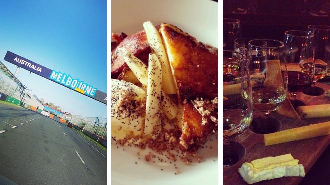 Racetrack ⇨ Australian restaurant ⇨ Wine bar