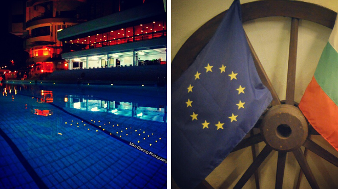 Pool ⇨ Eastern european restaurant