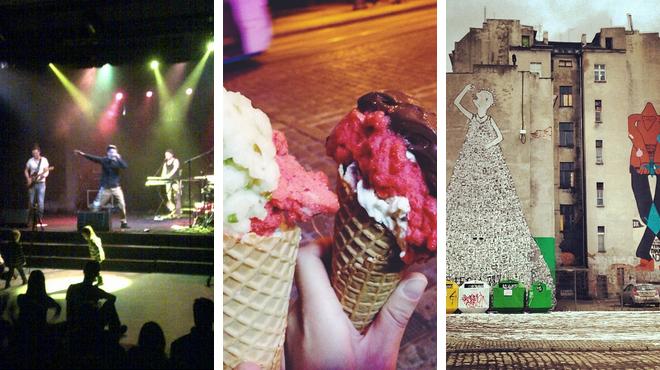 Have fun ⇨ Ice cream shop ⇨ Park