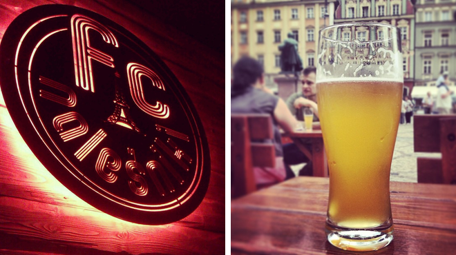 French restaurant ⇨ Brewery