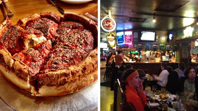 Pizza place ⇨ Pub