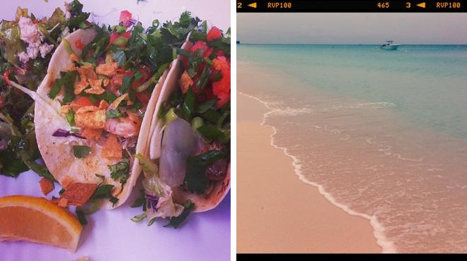 Caribbean restaurant ⇨ Beach