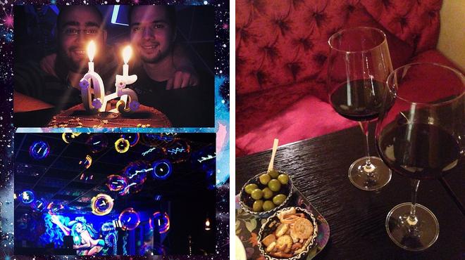 Tea room ⇨ Wine bar