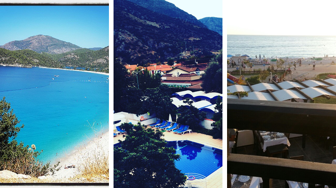 Beach ⇨ Have fun ⇨ Restaurant