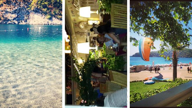 Beach ⇨ Turkish restaurant ⇨ Beach bar