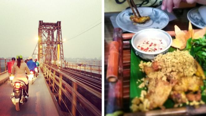 Bridge ⇨ Couple's Massage ⇨ Vietnamese restaurant