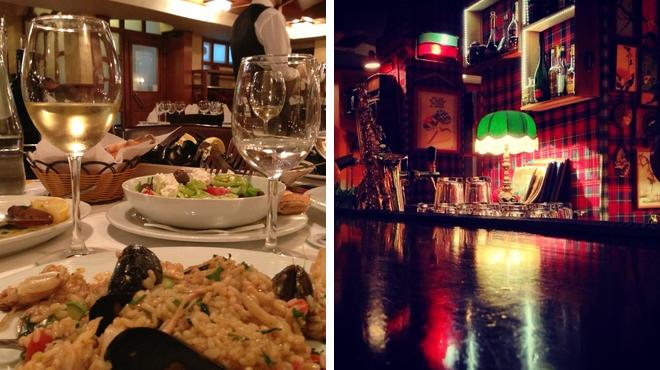 Italian restaurant ⇨ Delicious Cocktails