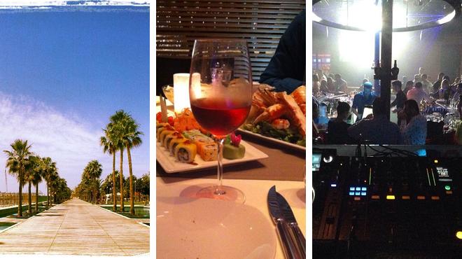 Park ⇨ Steakhouse ⇨ Delicious Cocktails