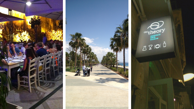 Greek restaurant ⇨ Plaza ⇨ Delicious Cocktails